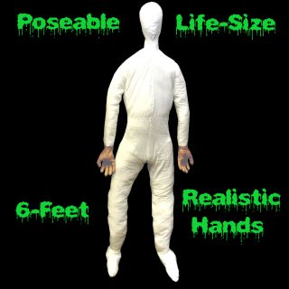 Poseable Mannequin Display Dummy Halloween Costume Prop Man