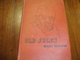 Old Jules Mari Sandoz Blue Ribbon Books
