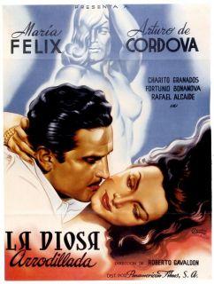 Maria Felix Poster La Diosa Arrodillada A Cordova