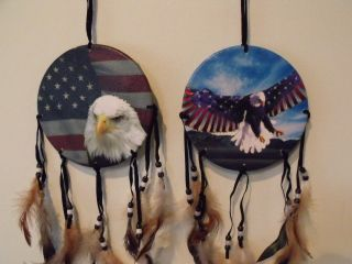 Eagle Flag 6 5 Dia Dream Catchers Mandela Mandella Decor 1 2