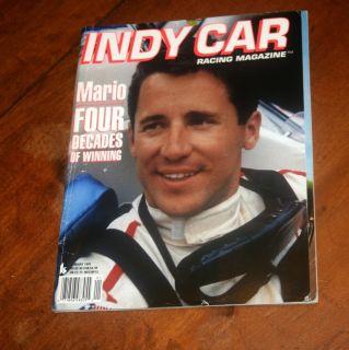 Indy Car Racing Magazine • 1995 • Mario Andretti • RARE