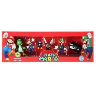 Nintendo Super Mario Bros 2 inch Figure 6 Pack
