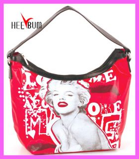 Marilyn Monroe Handbag Gift Purse Signature Product Shoulder Vinyl