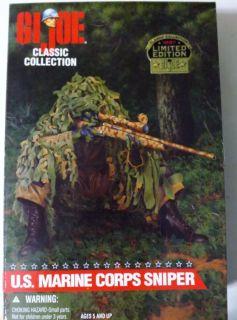 Gi Joe US Marine Corps Sniper 12 Action Figure New in Box