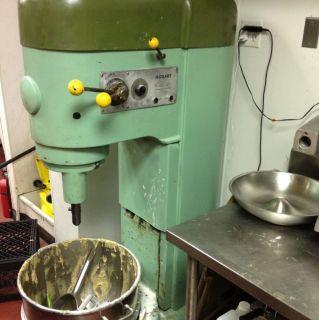 Hobart M802 80 Quart Mixer with Cool Paint Job