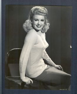 Sexy Sweater Girl Headlights Marjorie Woodworth Hal Roach Player