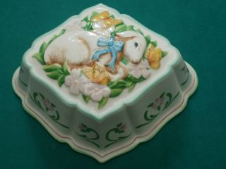 Vintage 1986 Franklin Mint Le Cordon Bleu Jello Molds Wall Decor Lanb