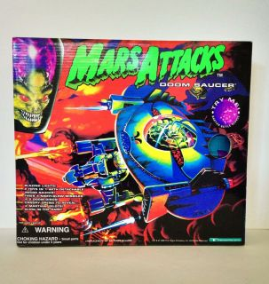 Mars Attacks Doom Saucer New SEALED by Trendmasters