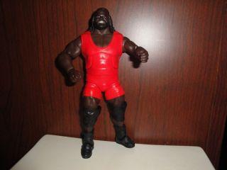 Mattel Elite Mark Henry Red Gear WWE Wrestling Figure