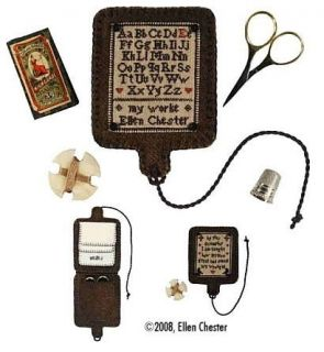 Hornbook Examplar by with My Needle Cross Stitch Pattern