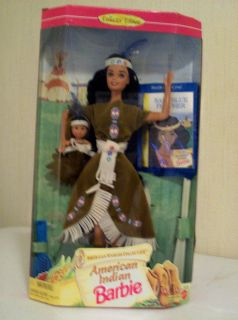 American Indian Barbie 1995 American Stories Collection 14715