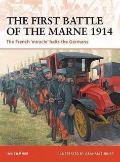 WW1 French France 1st Battle of The Marne Osprey Book