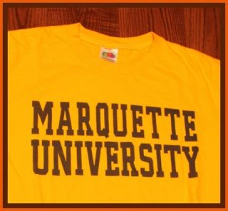 REDUCED $13 Marquette Golden Eagles NCAA Logo Apparel Style Cool T