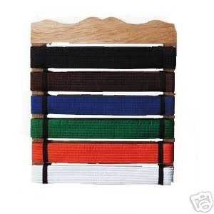 Martial Arts Karate Belt Display Rack Holder New
