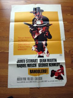 Bandolero 68 Raquel Welch Dean Martin James Stewart Western Movie