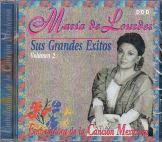Maria de Lourdes Sus Grandes Exitos Vol 2 Brand New SEALED CD