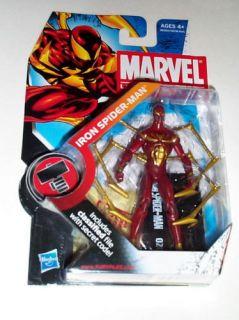 Marvel Universe Series 2 Iron Spiderman Figure 021