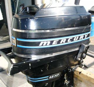 Rare mercury 115hp short shaft ss outboard boat motor 115 for Mercury 9 hp outboard motor