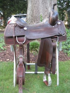 Marty Byrd Custom Hand Made Cutting Saddle Selling with