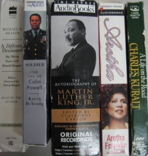 Biography Audiobooks Martin Luther King Arethra Franklin