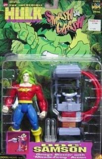 Incredible Hulk 1997 Doc Samson Marvel Toy Biz