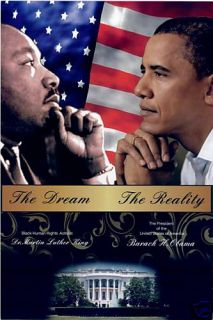 Rev Dr Martin Luther King President Barack Obama