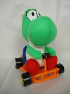 Super Mario Kart Yoshi PLUSH FIGURE TOY Import Japan Nintendo SNES