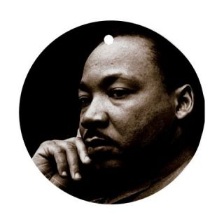 Reverend Dr Martin Luther King Jr Porcelain Ornament