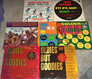 Vintage Soul Doo Wop LP Records MARY WELLS THE MIRACLES Tamla etc