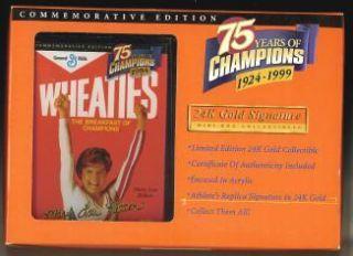 Mary Lou Retton Wheaties Mini Box 75 Years of Champions