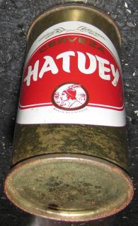 OLD BOTTLE BEER CUBAN HATUEY Very Rare CERVEZA CUBANA MARK FIRST TIMES