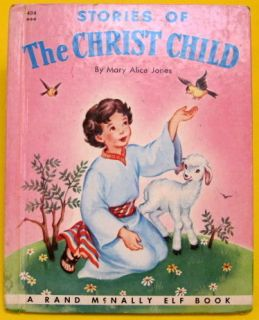 Christ Child Vintage Rand McNally Elf Mary Alice Jones 1957 VG