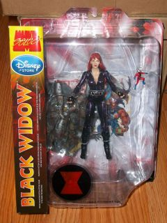 Marvel Select BLACK WIDOW 7 Action Figure COLLECTOR EDITION DISNEY
