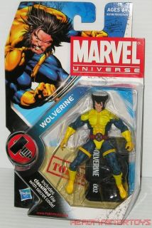 Marvel Universe Series 2 Wolverine 002 Variant Jim Lee Head