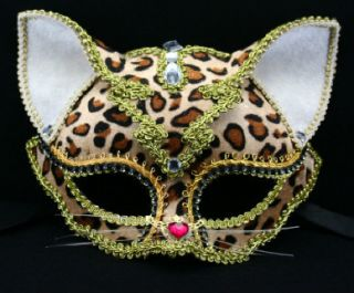 Cat Fancy Dress Costume Masquerade Ball New Year Eye Mask