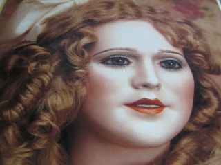 4pg Mary Pickford Doll Article / Carolyn Cook EXACTLY LIKE THE ACTRESS