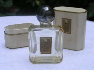 Vintage Ecusson by Mary Stuart Perfume Bottle w Box