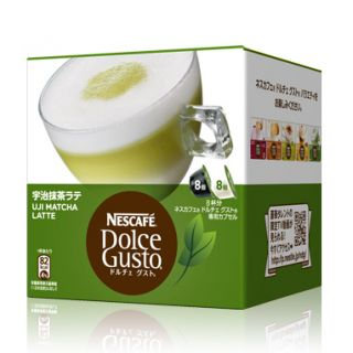 Nescafe Dolce Gusto UJI Matcha Green tea Latte Capsules Japan Limited