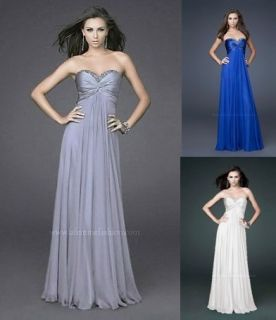 New Chiffon Bridesmaid Maternity Formal Dresses Prom Gown Size 6 8 10