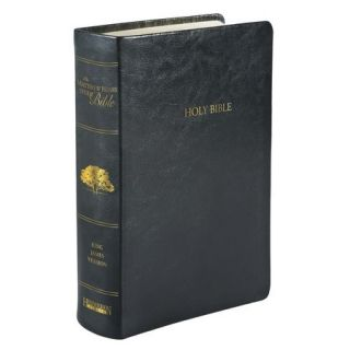 KJV The Matthew Henry Study Bible Black Imit Leather