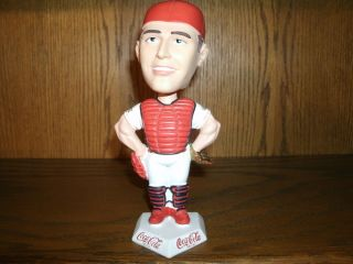 Mike Matheny St. Louis Cardinal 2000 Rawlings Gold Glove Winner SGA
