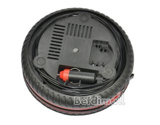 Car Auto Portable Pump Tire Inflator Mini Air Compressor BE0D