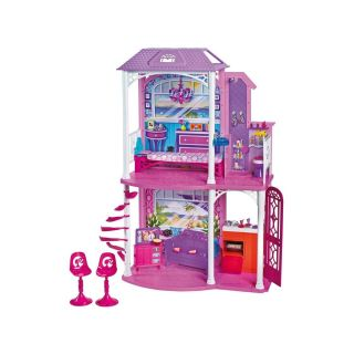 Mattel Barbie 2 Story Beach House w 4 Rooms Furniture Accessories FAST