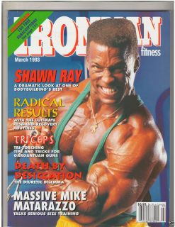 Bodybuilding Fitness Magazine Shawn Ray Mike Matarazzo 3 93