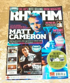 Special Issue Summer 2012 Matt Cameron Drum Lessons Reviews CD
