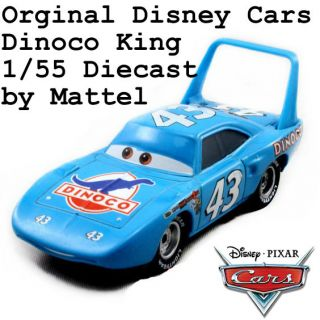 Pixar Cars The King 43 Dinoco Mattel 1 55 Diecast Car Toy