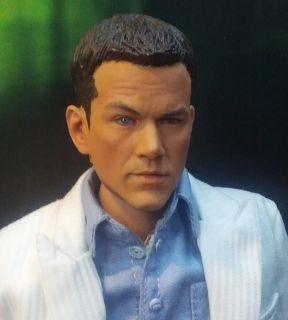 Custom 1 6 Matt Damon Head Sculpt for 12 Hot Toys TTL Figure Body The