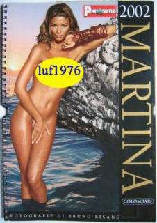 Calendar Sexy Martina Colombari Calendario Panorama 02