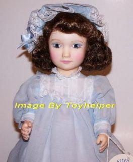 Effanbee Jan Hagara Mary Ann 15 Doll Blue Dress Box