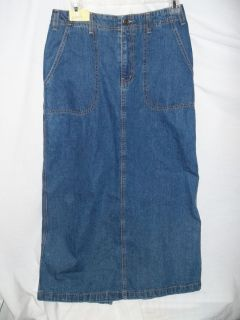 fa85a199fb ... Maurices Denim Jean Skirt Size 10 Pre Owned ...
